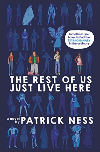 The Rest of Us Just Live Here Book Cover